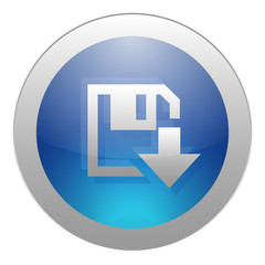 DOWNLOAD Web Button (upload downloads blue internet click here)