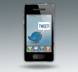 """Smartphone """"Tweet!"""""""