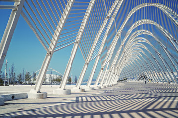 Arch of the Athens Olympic Stadium