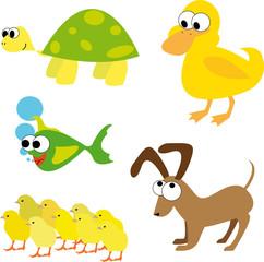 varios animales