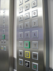 Elevators and buttons