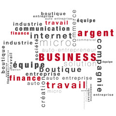 mots sur la thèmatique du business