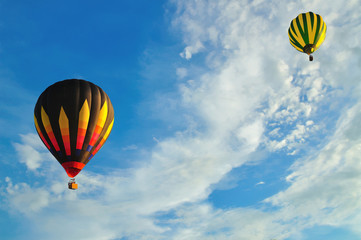 Balloon with blue sky