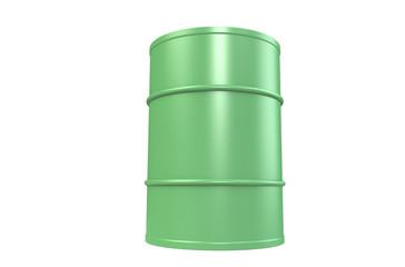 Oil Drum, Green Copy Space