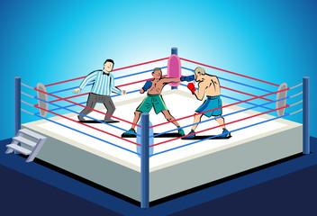 ボクシング ストレートパンチ