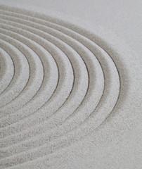 sable fin méditation réflexion zen