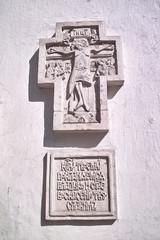 Old religious Christian orthodox  stone icons