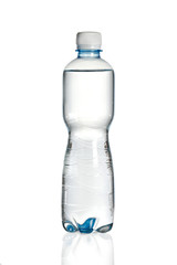Plastic water bottle