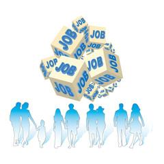 chômage et emplois