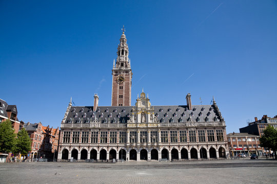 University library, Leuven, Belgium