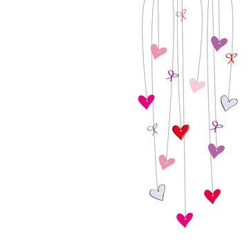 Valentine or wedding card