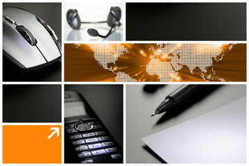 Collage - Business - Service