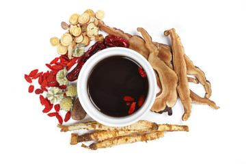 Chinese traditional herbs and medicine