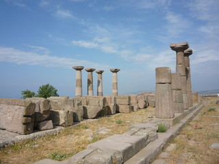 Assos an ancient city in turkey