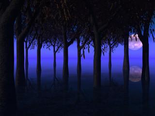 arboles nocturnos