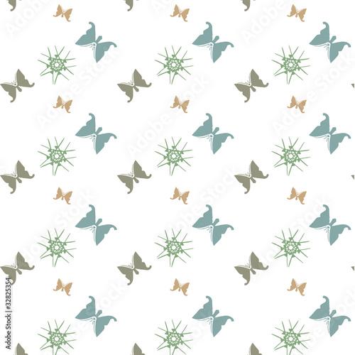papier peint papillons d co nordique fichier vectoriel libre de droits sur la banque d 39 images. Black Bedroom Furniture Sets. Home Design Ideas