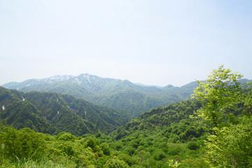 白神山地の津軽峠