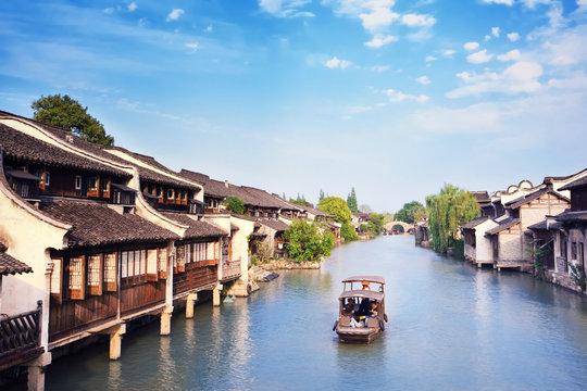 China, Jangsu, the Xizha ancient village