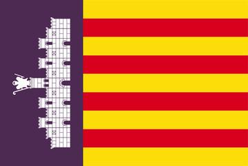 Fahne Mallorca