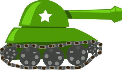 Fotorolgordijn Militair War Tank
