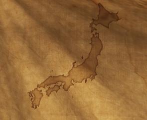 古地図風日本地図