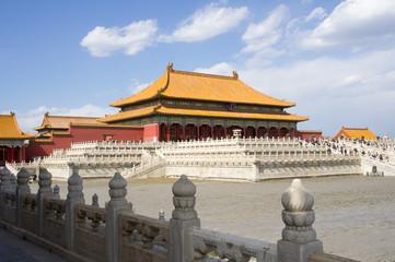 Fotobehang Beijing Hall of Supreme Harmony