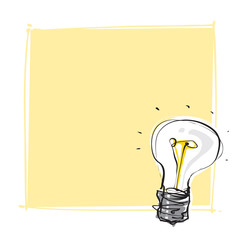 light-bulb dynamic freehand line style