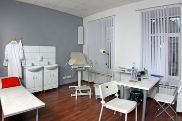 Gynecologist's office in hospital