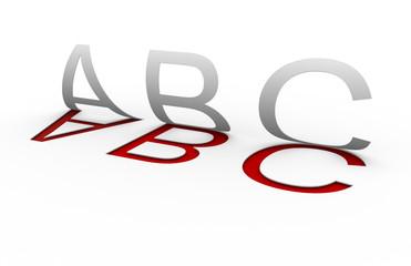 """""""Abc"""" letters"""