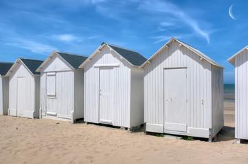 Cabines de plage - Bernieres-Sur-Mer