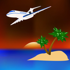Travel to the tropical countries