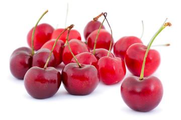 Grupo de cerezas.
