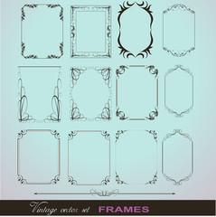 Vignette Flourish Frames