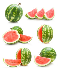 set of watermelon images