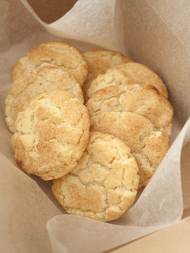 Box of Snickerdoodle Cookies