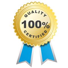 médaille qualité certifiée