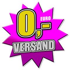Null Euro Versandkosten