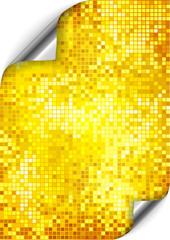 golden pixel background