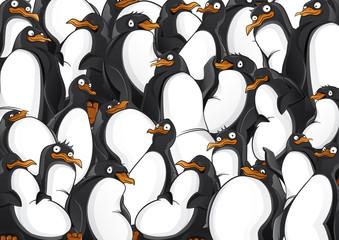 Penguins pattern