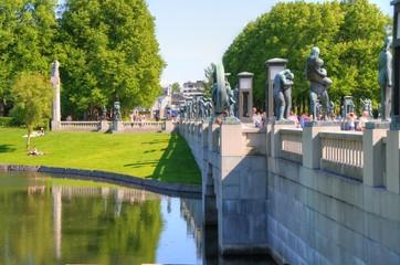 Oslo (Norway) - Vigeland Park / Frognerpark