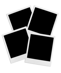 Bunch of instant photo frames