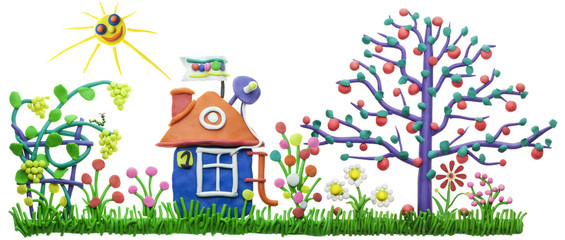 Lovely sweet home concept