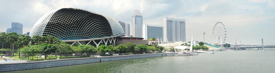 Foto op Canvas Singapore Esplanade Theatres