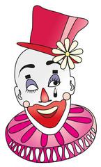 Vector illustration. Joker.