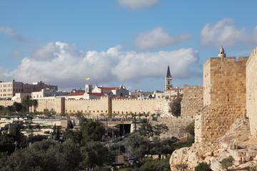 A lovely sunny day in Jerusalem