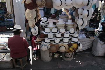Otavalo,sabado mercado,Ecuador