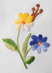 Old needlework