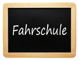 Fahrschule - Schultafel