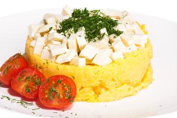 Carpathian refined dish