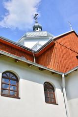 Greek catholic church in Komancza, Bieszczady, Poland